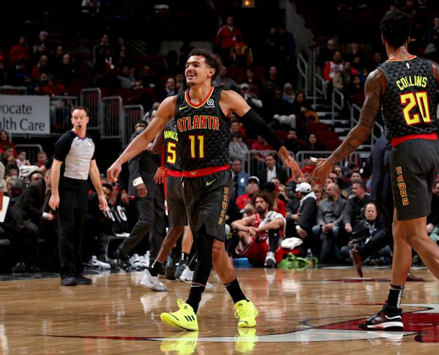TRAE YOUNG VE JOHN COLLİNS